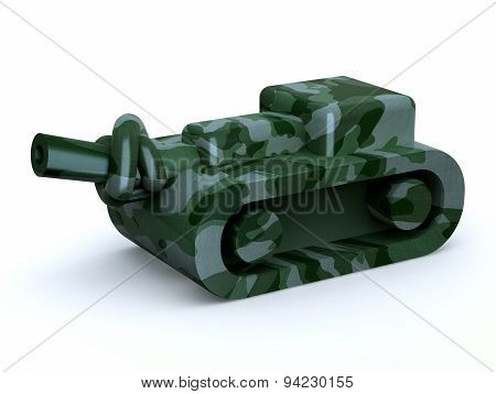 Tank With Knot In The Cannon, Stop The War