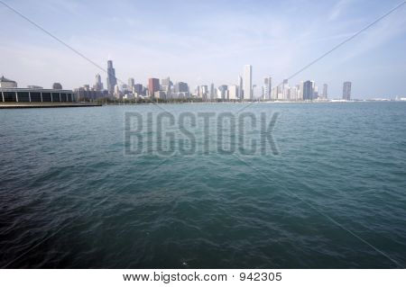 Skyline Of Chicago Soc04