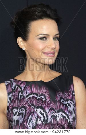 LOS ANGELES - JUN 3:  Carla Gugino at the