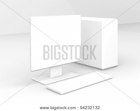 White Computer