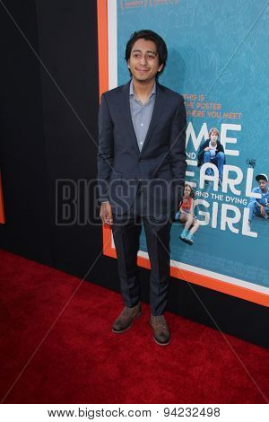 LOS ANGELES - JUN 3:  Tony Revolori at the