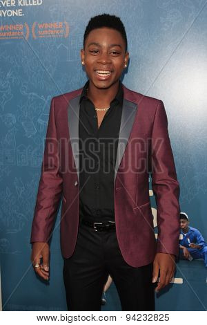 LOS ANGELES - JUN 3:  RJ Cyler at the