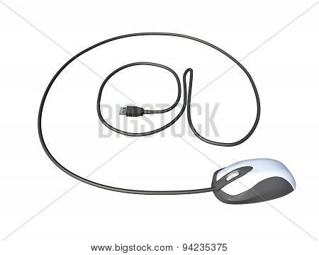 Mouse Usb Cable That Draws