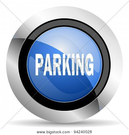 parking icon original modern design for web and mobile app on white background
