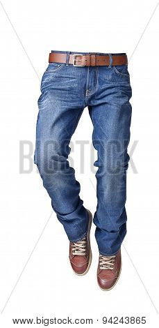 Pants For Men Isolated On A White Background