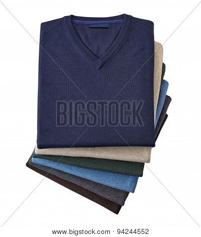 Shirt For Men Isolated On A White Background