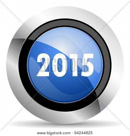 new year 2015 icon new years symbol original modern design for web and mobile app on white background