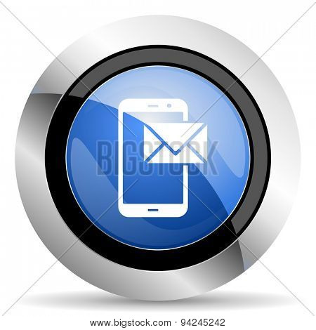 mail icon post sign original modern design for web and mobile app on white background