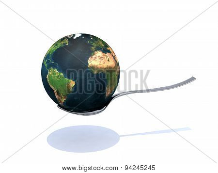 The World On The Spoon