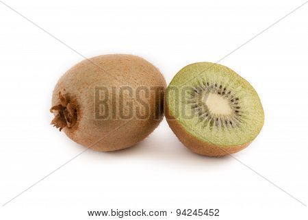Kiwi Isolated On Withe Background