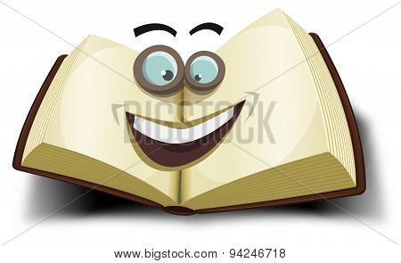 Big Book Character Icon