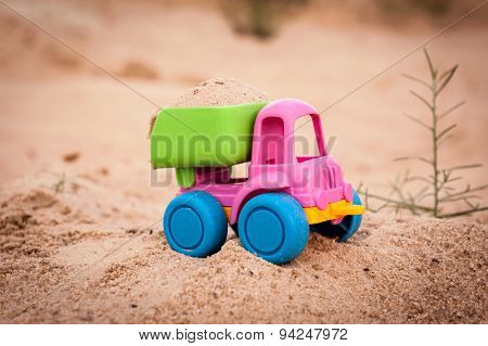 Truck In The Sands