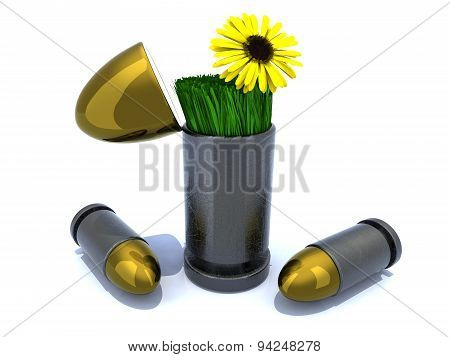 Bullets And Flower