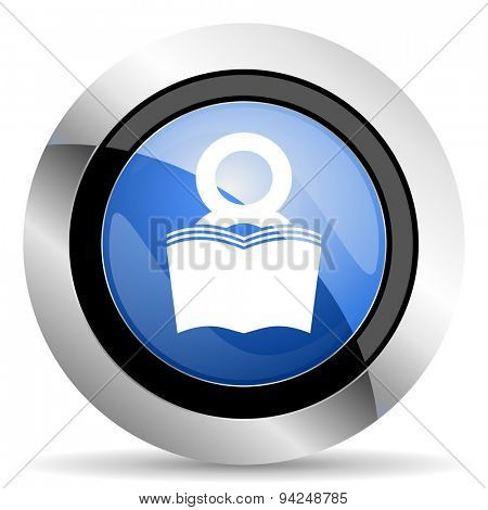 book icon reading room sign bookshop symbol  original modern design for web and mobile app on white background