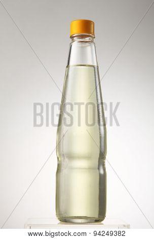 bottle of the kerosene on the white background