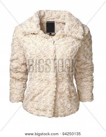 Jacket Women Isolated On White