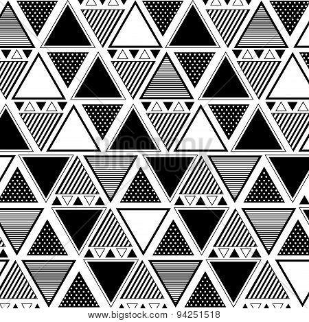Mixed Triangle Pattern