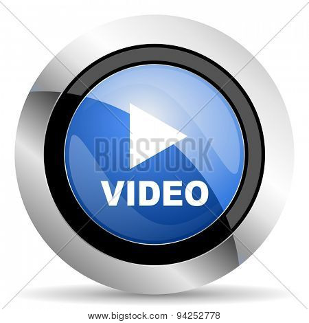 video icon  original modern design for web and mobile app on white background