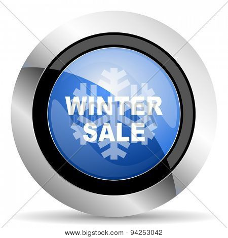 winter sale icon  original modern design for web and mobile app on white background