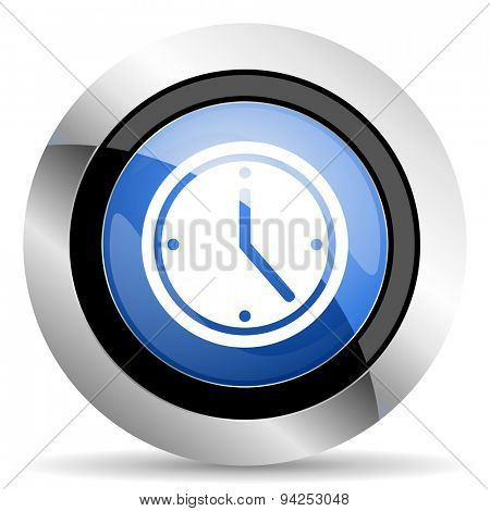 time icon watch sign original modern design for web and mobile app on white background