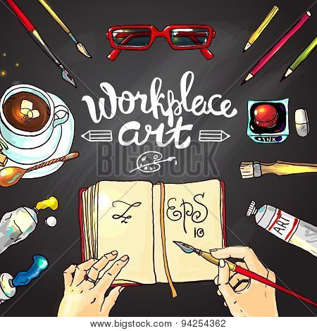 workplace art