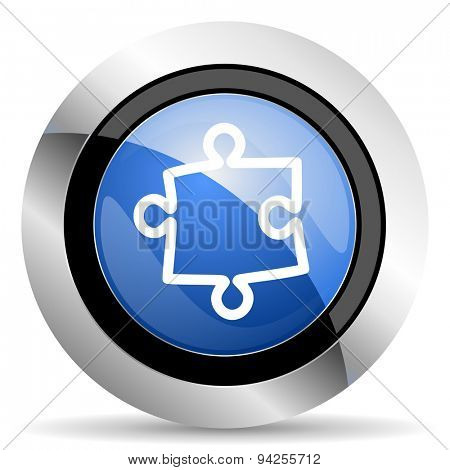 puzzle icon  original modern design for web and mobile app on white background