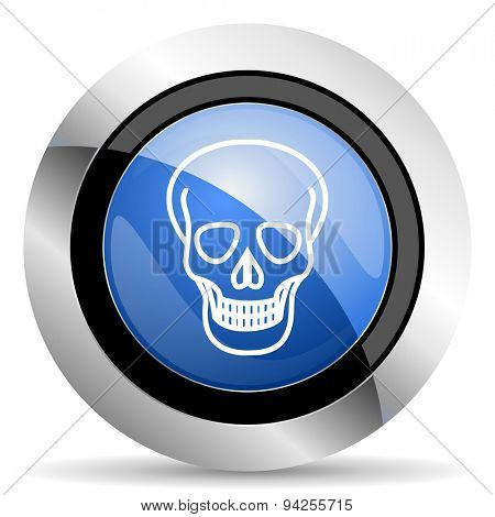 skull icon death sign original modern design for web and mobile app on white background