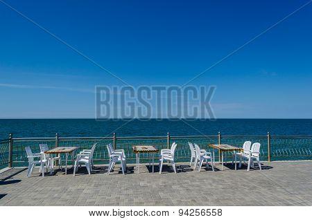 Baltic Sea. Kaliningrad region, city of Zelenogradsk.