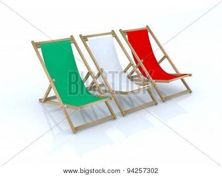 Wood Desk Chairs Italian Flag
