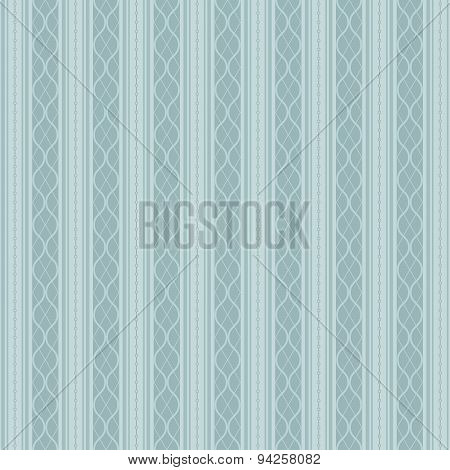 Retro Background Made With Vertical Stripes, Vintage Hipster Seamless Pattern