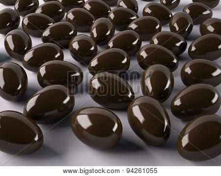 Many Chocolate Eggs