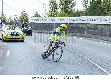 The Cyclist Michael Rogers - Tour De France 2014