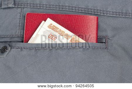 Money In The Pocket Of Your Pants