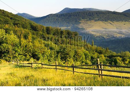 A Light Mist In The Mountains