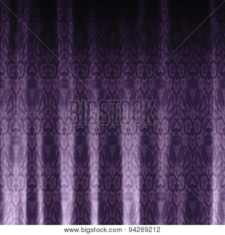 Drapery Generated Texture