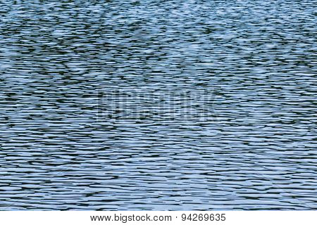 Blue water ripple abstract background