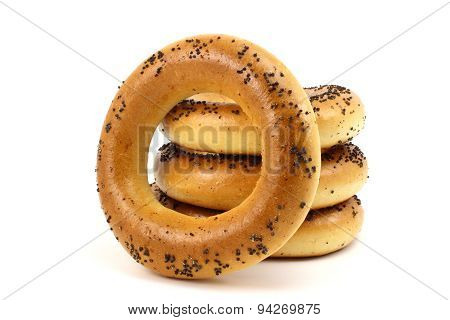 Russian Bagels With Poppy Seeds