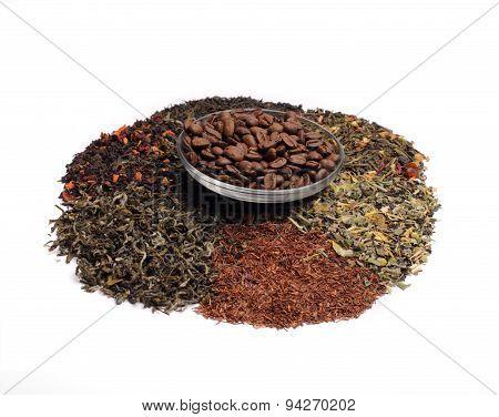 Coffe, Teas - Assorted