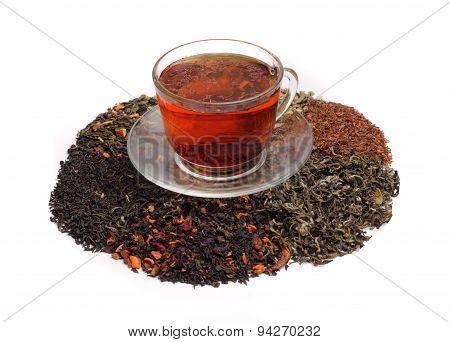 Red Teas And Assorted Tea Leaf