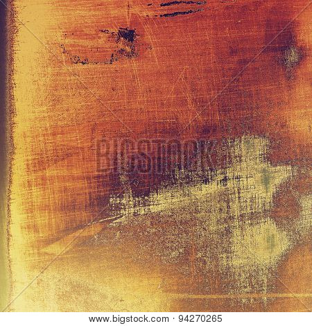 Antique vintage texture, old-fashioned weathered background. With different color patterns: yellow (beige); brown; gray; red (orange)