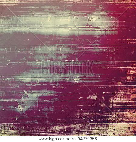 Old, grunge background or ancient texture. With different color patterns: brown; gray; purple (violet); pink