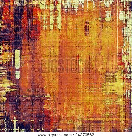 Vintage texture with space for text or image, grunge background. With different color patterns: yellow (beige); brown; purple (violet); red (orange)