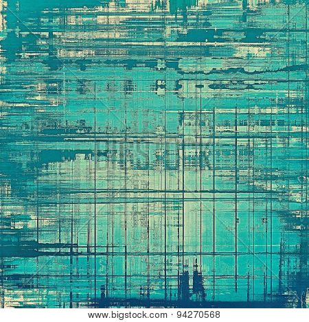 Beautiful antique vintage background. With different color patterns: gray; blue; cyan
