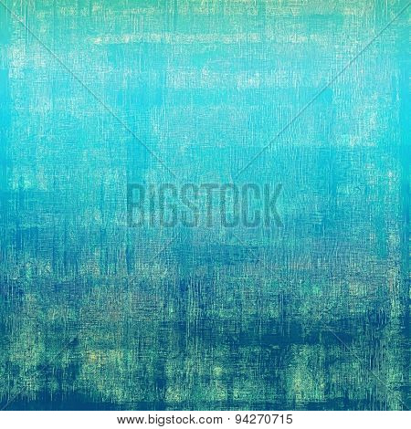 Abstract retro background or old-fashioned texture. With different color patterns: gray; blue; green; cyan