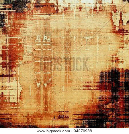 Grunge retro texture, elegant old-style background. With different color patterns: yellow (beige); brown; black; red (orange)