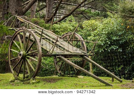 Very Old Farm Wagon