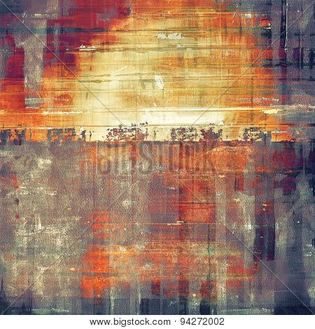 Abstract retro background or old-fashioned texture. With different color patterns: brown; gray; purple (violet); red (orange)