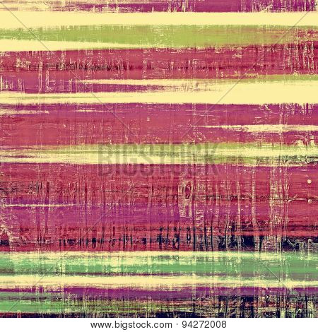 Designed grunge texture or retro background. With different color patterns: yellow (beige); green; purple (violet); pink