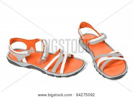 Pair Of Summer Sandals