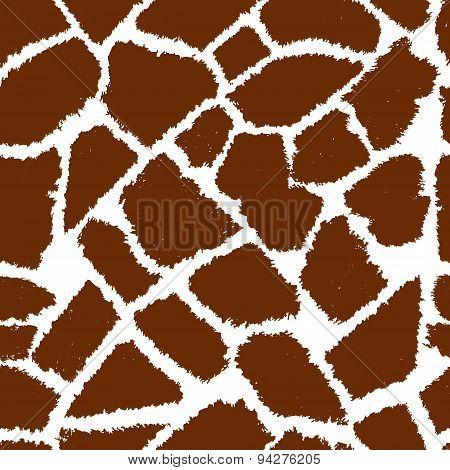 giraffe skin vektor pattern.